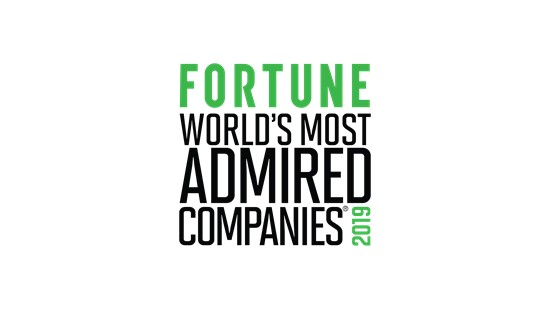 FORTUNE World's Most Admired Companies 2018 logo